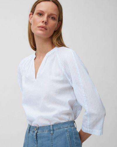 Klasyczna bluzka w paski bawełniana Marc O Polo