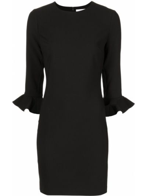 Черное расклешенное платье Likely
