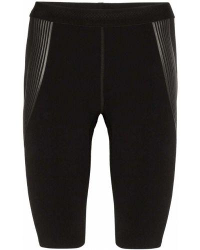Черные спортивные шорты с поясом Soar