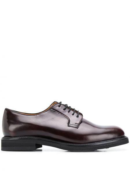 Кожаные туфли на шнуровке Berwick Shoes