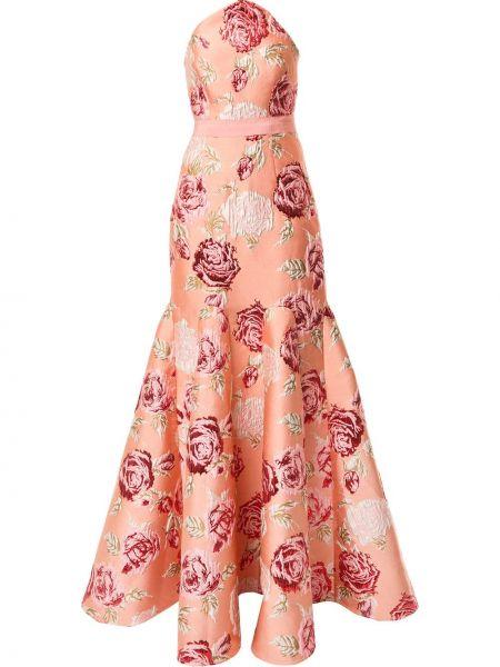 Платье с цветочным принтом годе Alice Mccall