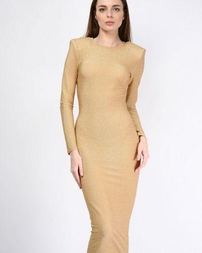 Платье весеннее золотой Lipinskaya Brand