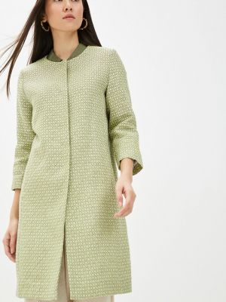 Пальто зеленое летнее анна голицына