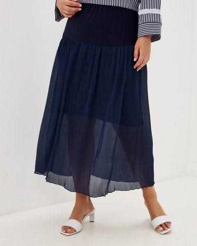 Синяя весенняя юбка Prewoman