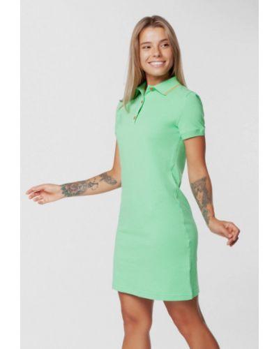 Платье-футболка - зеленое Arber