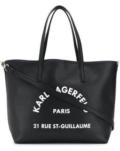 Сумка-тоут на плечо сумка-мешок Karl Lagerfeld
