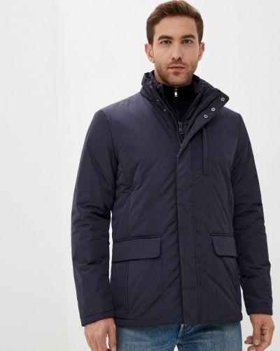 Теплая черная утепленная куртка Geox