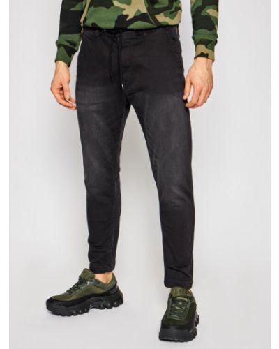 Czarne joggery Pepe Jeans