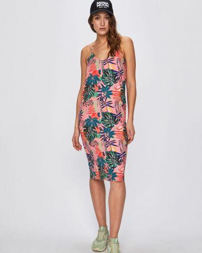 Платье мини прямое с V-образным вырезом Femi Stories