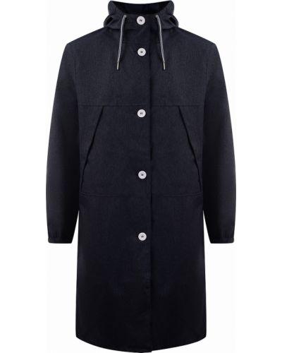 Повседневная синяя длинная куртка Helly Hansen