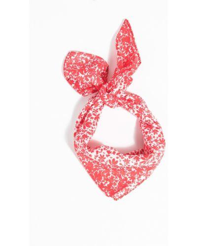 Красный шарф с узором Parfois