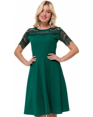 Деловое платье платье-сарафан из вискозы Nikol