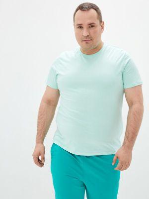 Зеленая футболка с короткими рукавами Fine Joyce