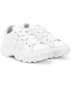 Белые кроссовки 2 Star Kids