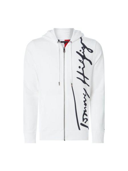 Sweter z zamkiem błyskawicznym wełniany Tommy Hilfiger