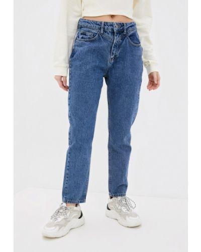 Синие прямые джинсы Adl