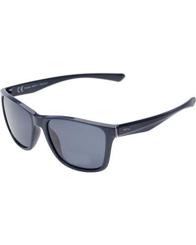 Солнцезащитные очки серые спортивные Invu