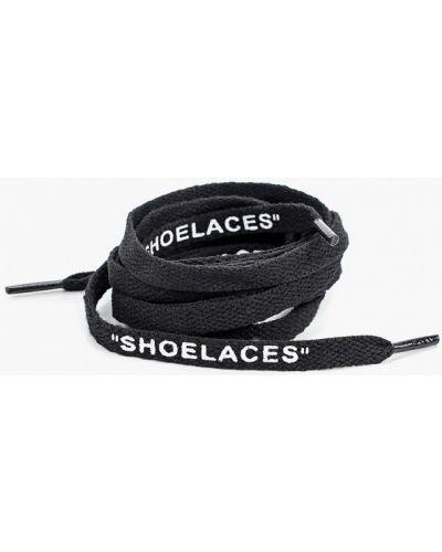 Черные шнурки на шнурках Nothing But Love