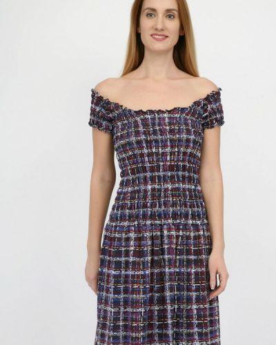 Платье с открытыми плечами весеннее Panove