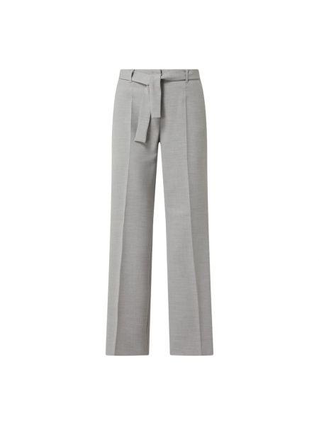 Spodnie z wiskozy - czarne S.oliver Black Label