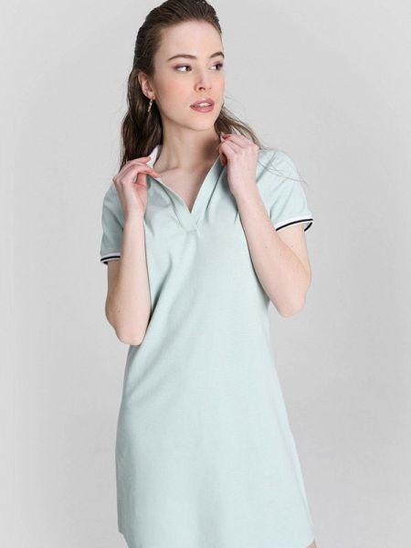 Платье футболка зеленый Ostin