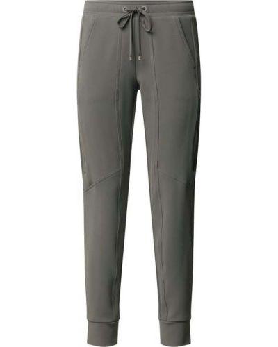 Zielone spodnie dresowe Cambio