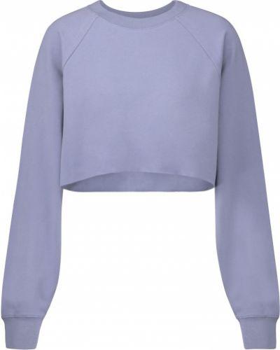 Niebieska bluza bawełniana Alo Yoga