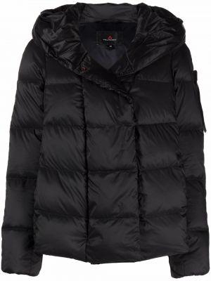 Черная куртка длинная Peuterey