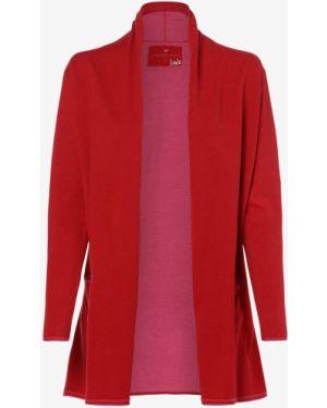 Ciepły czerwony garnitur dzianinowy Lieblingsstück