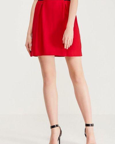 Красная юбка Naf Naf