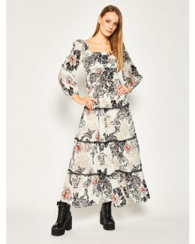 Szara sukienka Pinko