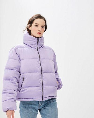 Фиолетовая утепленная куртка Glamorous