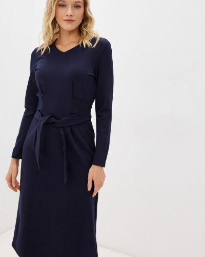 Синее демисезонное платье Savage