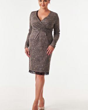 Платье миди с запахом платье-сарафан Victoria Filippova