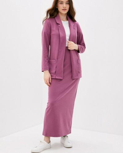Костюмный розовый костюм Sahera Rahmani