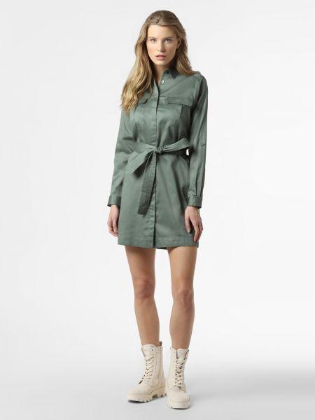 Klasyczna zielona sukienka jeansowa Pepe Jeans