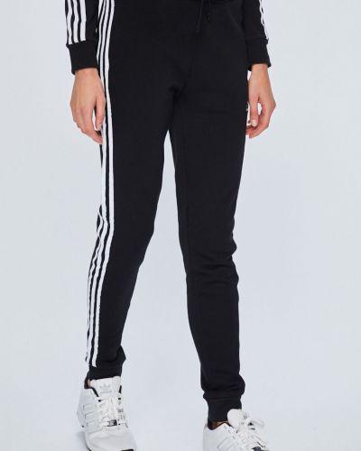 Спортивные брюки с лампасами с завышенной талией Adidas Originals