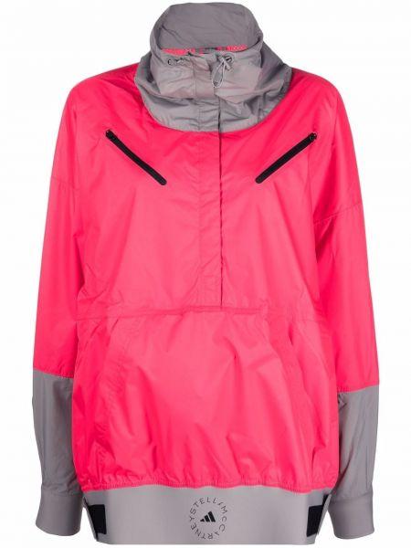 Куртка с капюшоном - розовая Adidas By Stella Mccartney