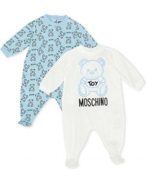 Piżama długo z długimi rękawami Moschino Kids