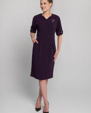Платье миди с поясом платье-сарафан Sezoni