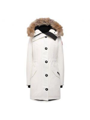 Пуховая куртка - белая Canada Goose