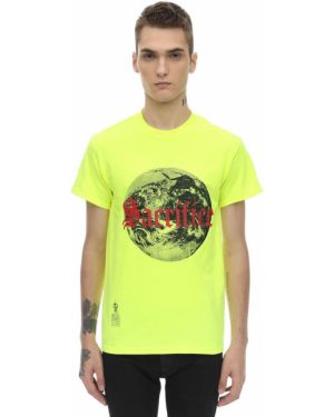 Żółty t-shirt bawełniany Darkoveli