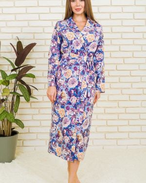 Повседневный домашний халат с поясом с запахом Lika Dress