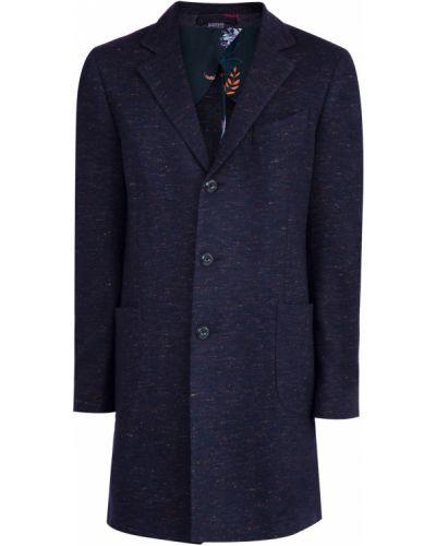 Пальто однобортное прямое Etro