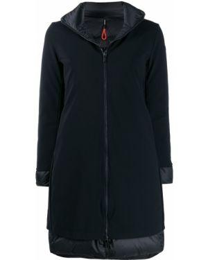 Черный длинное пальто Rrd