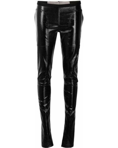 Czarne legginsy Rick Owens