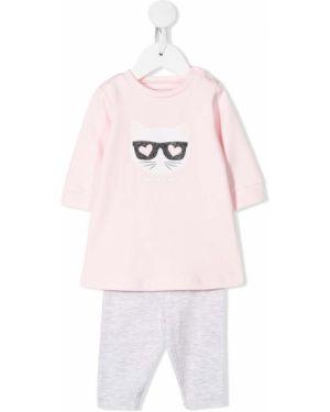 Piżama długo z długimi rękawami Karl Lagerfeld Kids