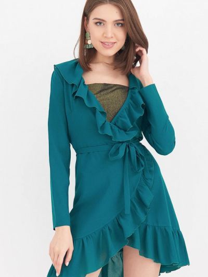Пляжное платье - зеленое Donatello Viorano