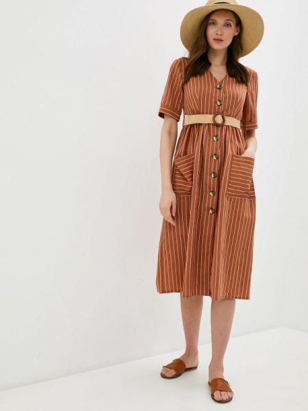 Платье - коричневое Villagi