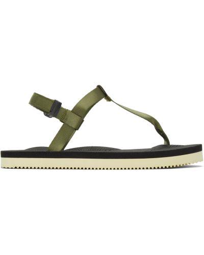 Sandały na obcasie - białe Suicoke